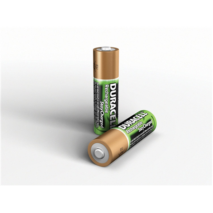 Duracell AA/HR6, 2500 mAh, Rechargeable Accu Stay Charged Ni-MH, 2 pc(s)