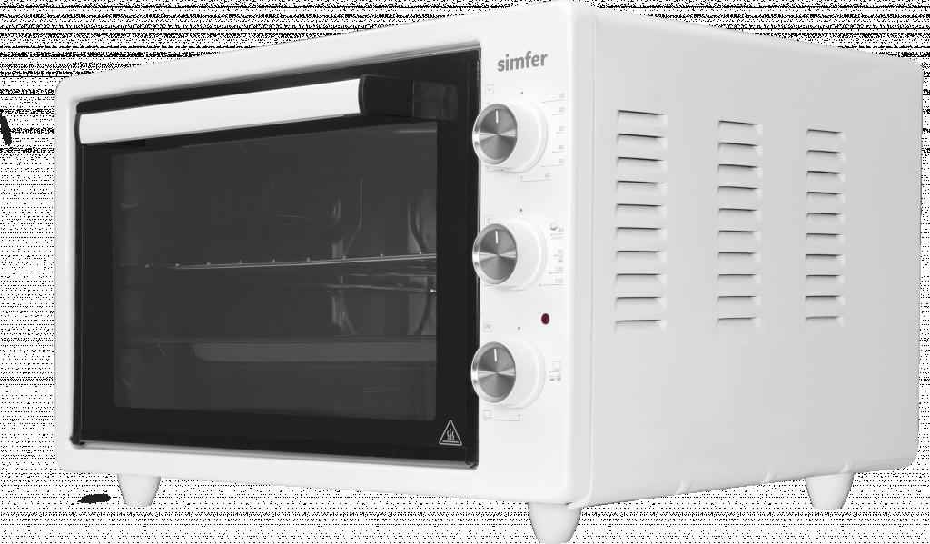 Simfer Midi Oven M4531.R02N0.WW5 36.6 L, Electric, Mechanical, White