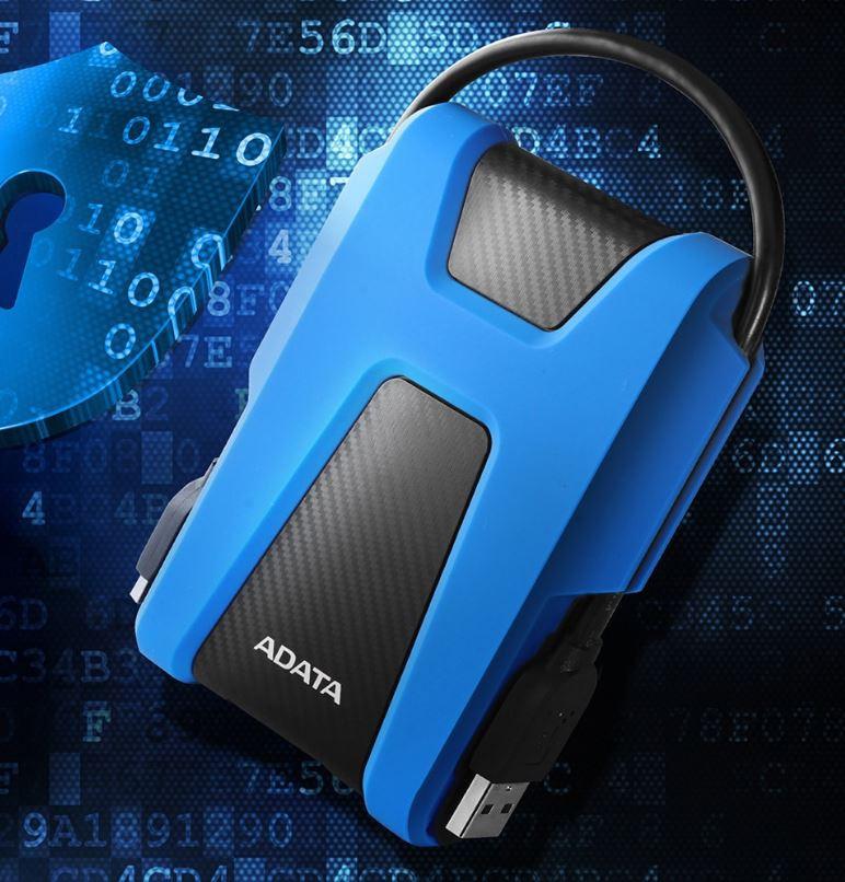 ADATA External Hard Drive HD680 1000 GB, USB 3.1, Blue