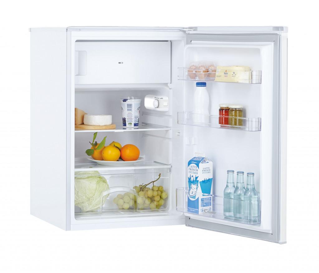 Candy Refrigerator CCTOS 542WN Energy efficiency class F, Free standing, Larder, Height 85 cm, Fridge net capacity 95 L, Freezer net capacity 14 L, 40 dB, White