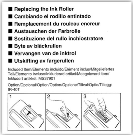Elektrooniline trükikalkulaator CASIO HR-150RCE tindikassett