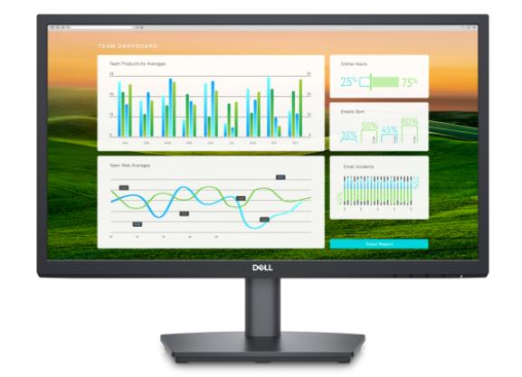 """Dell LCD monitor E2222HS 22 """", VA, FHD, 1920 x 1080, 16:9, 5 ms, 250 cd/m², Black, HDMI ports quantity 1, 60 Hz"""