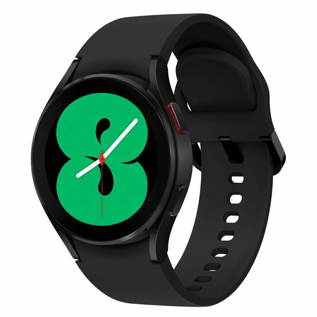 "Samsung Galaxy Watch4 3,05 cm (1.2"") 40 mm SAMOLED 4G Must GPS (satelliit)"