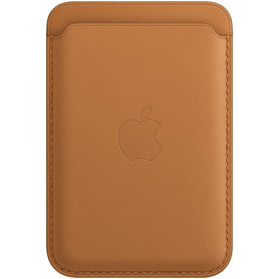 iPhone Leather Wallet with MagSafe - Golden Brown, Model A2688
