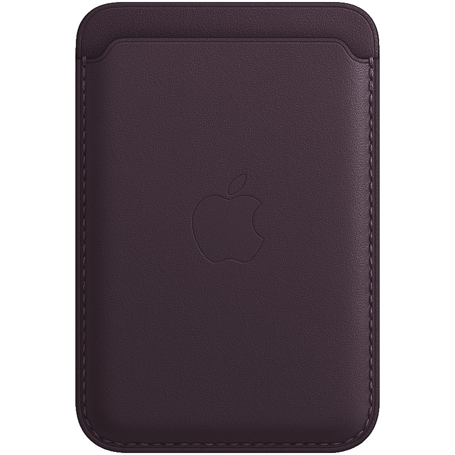 iPhone Leather Wallet with MagSafe - Dark Cherry, Model A2688