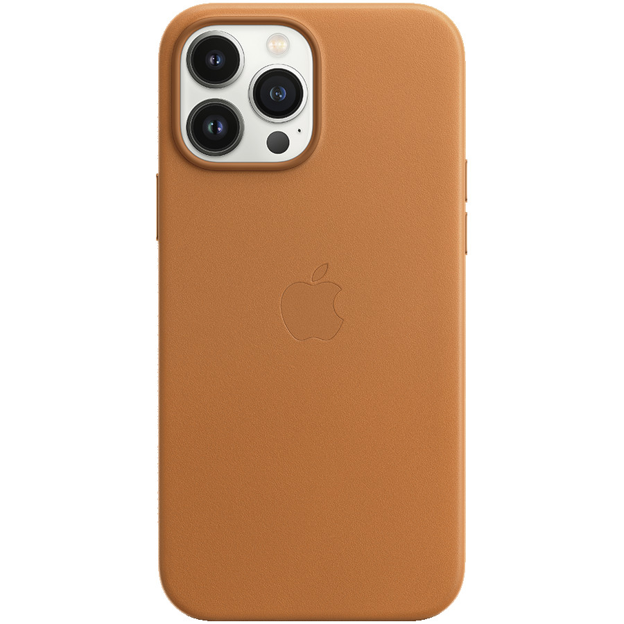 iPhone 13 Pro Max Leather Case with MagSafe - Golden Brown, Model A2704