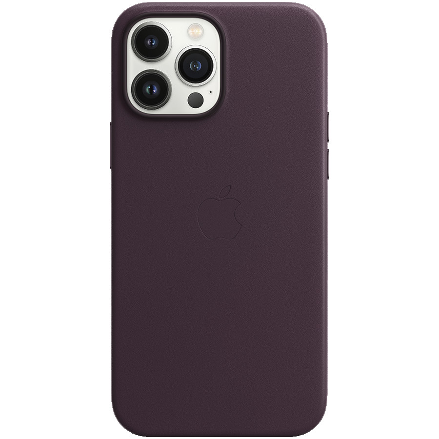 iPhone 13 Pro Max Leather Case with MagSafe - Dark Cherry, Model A2704