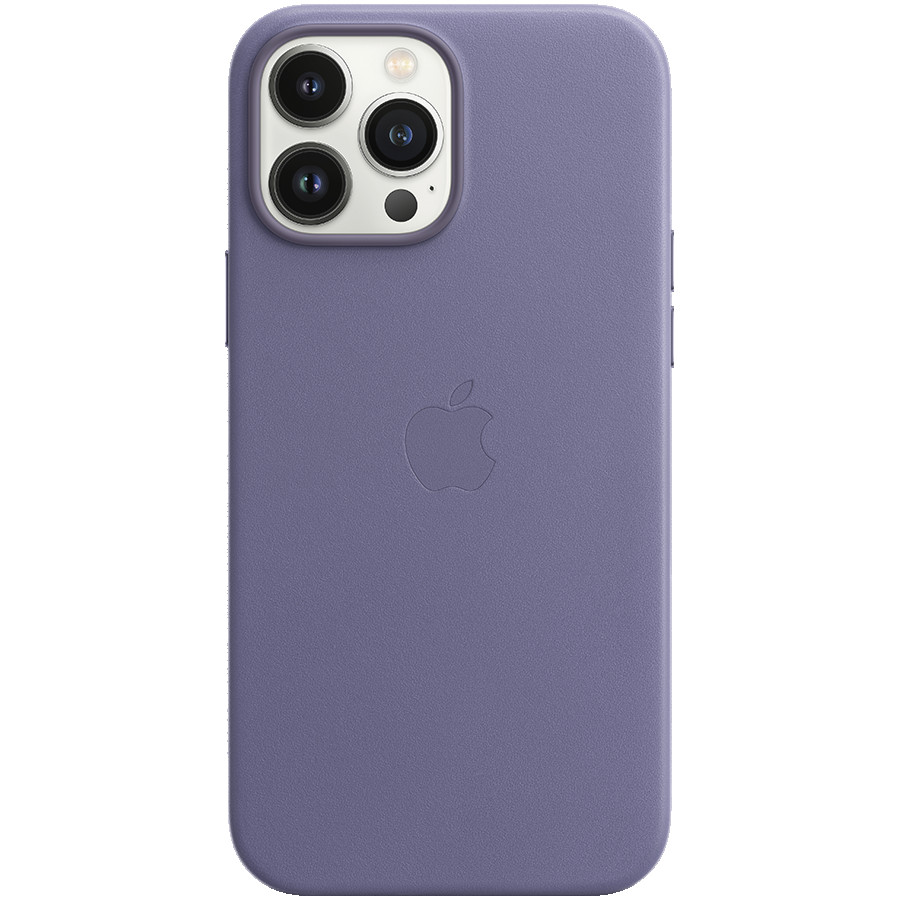 iPhone 13 Pro Max Leather Case with MagSafe - Wisteria, Model A2704