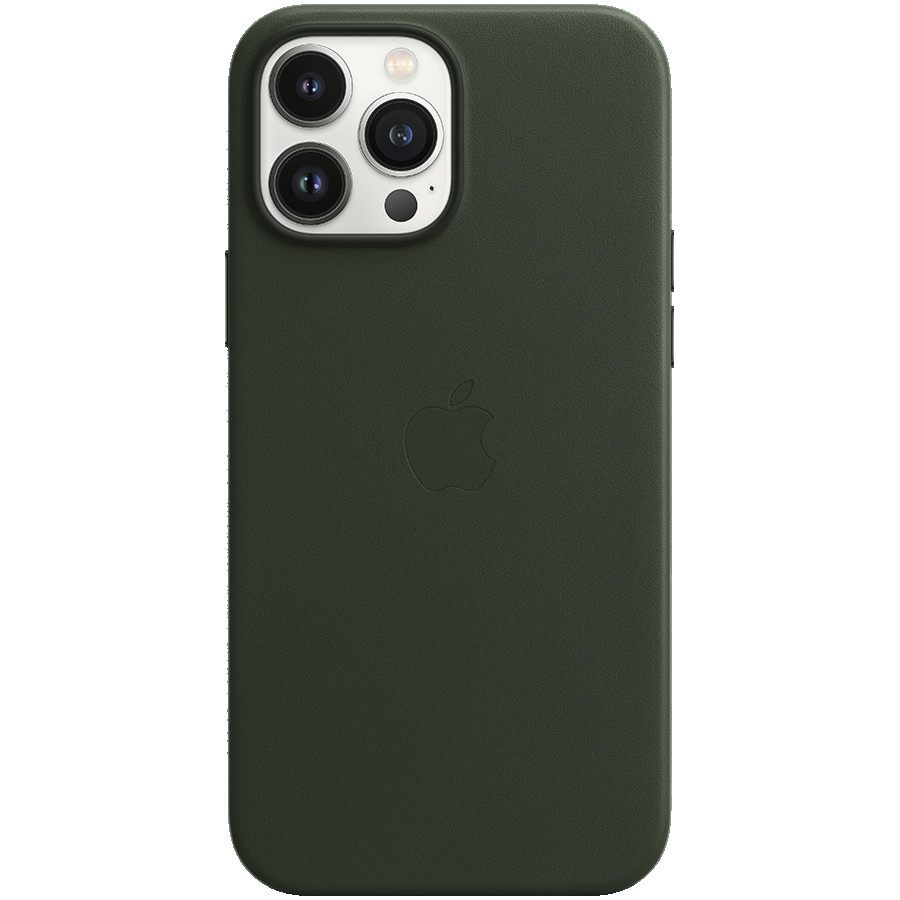 iPhone 13 Pro Max Leather Case with MagSafe - Sequoia Green, Model A2704
