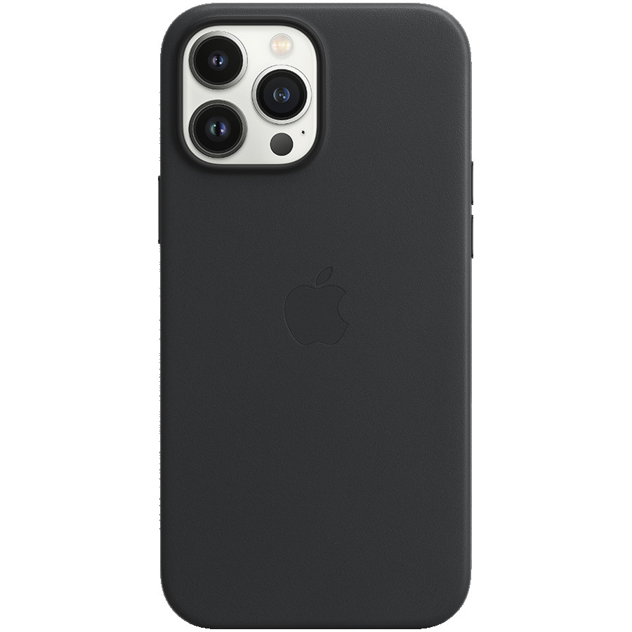 iPhone 13 Pro Max Leather Case with MagSafe - Midnight, Model A2704