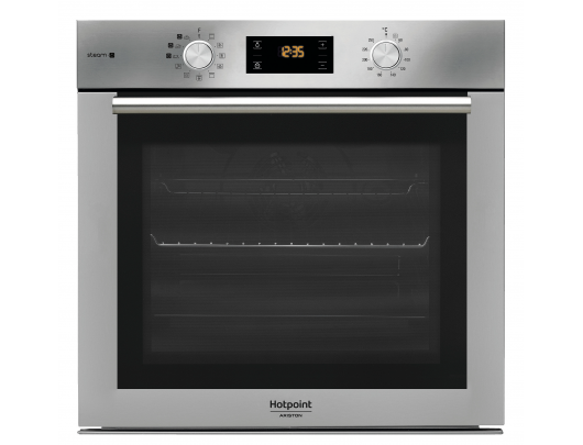 Hotpoint Oven FA4S 842 J IX HA 71 L, Electric, Knobs and electronic, Height 59.5 cm, Width 59.5 cm, Inox