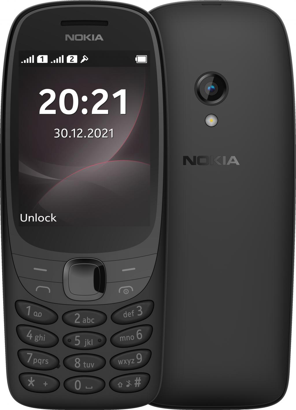 "Nokia 6310 TA-1400 Black, 2.8 "", TFT, 0.016 MB, Dual SIM, Nano Sim, 3G, Bluetooth, 5.0, USB version Micro, Built-in camera, Main camera 0.2 MP, 1150 mAh"