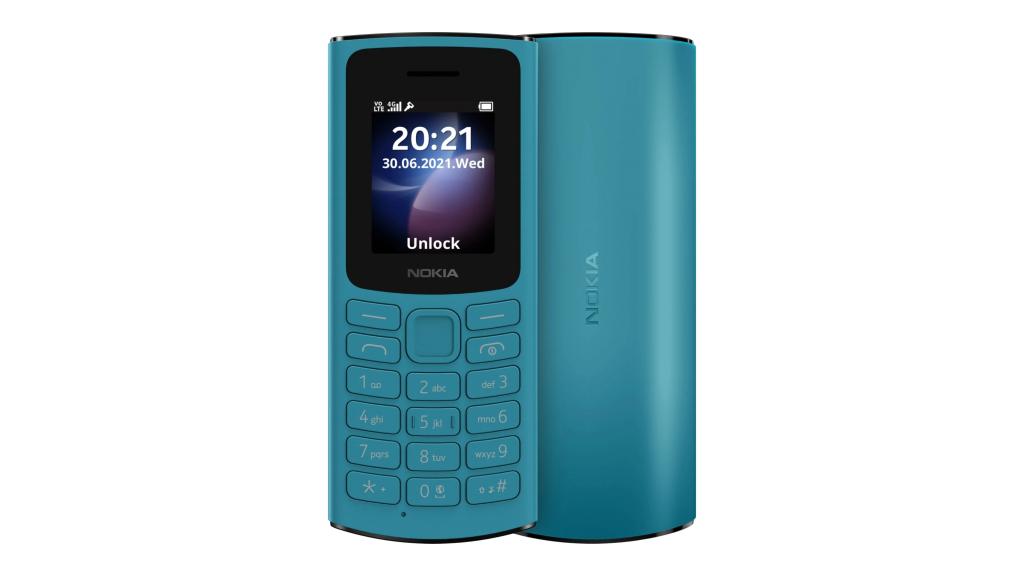 "Nokia 105 DS TA-1378 Blue, 1.8 "", TFT, 0.048 MB, Dual SIM, Nano Sim, 3G, USB version Micro, 1020 mAh"