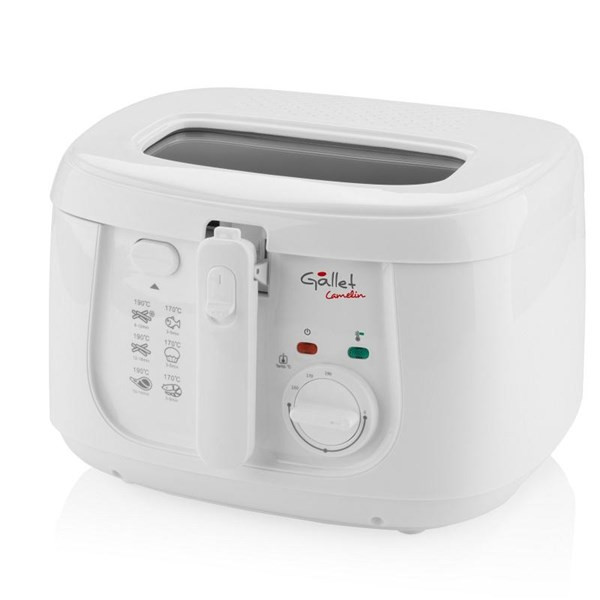 Gallet Fryer  CAMELIN DF165 Power 1800 W, Capacity 2.5 L, White