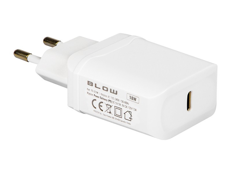 Charger USB-C PD3.0 18W