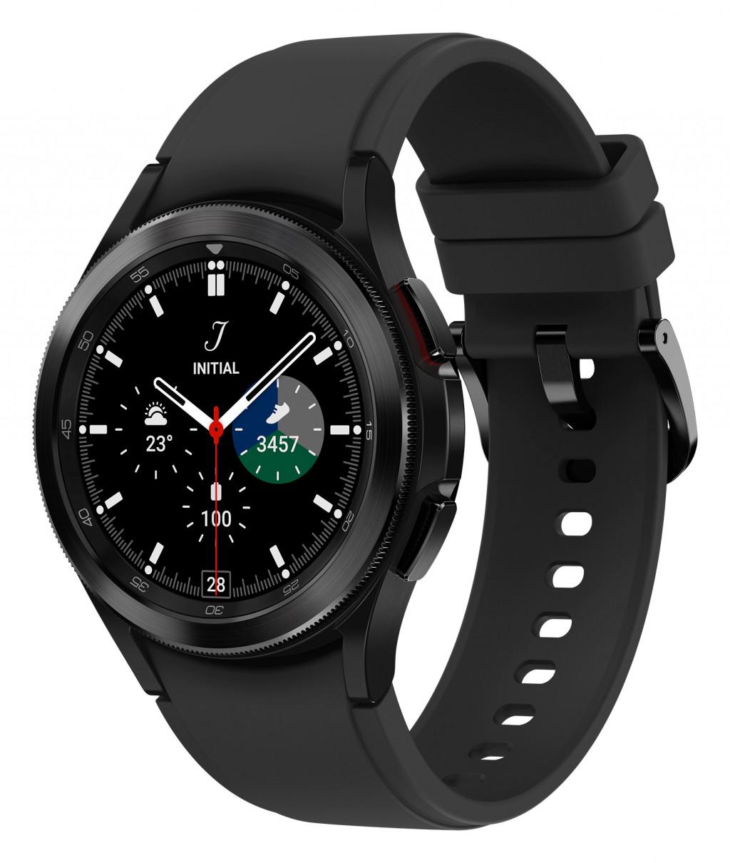 "Samsung Galaxy Watch4 Classic 3,05 cm (1.2"") 42 mm SAMOLED Must GPS (satelliit)"