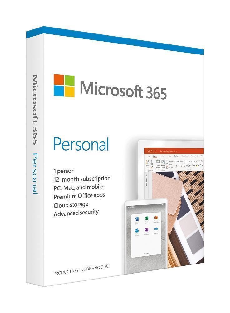 Microsoft Office 365 Personal Täisversioon 1 litsents(i) 1 aasta(t) Inglise keel