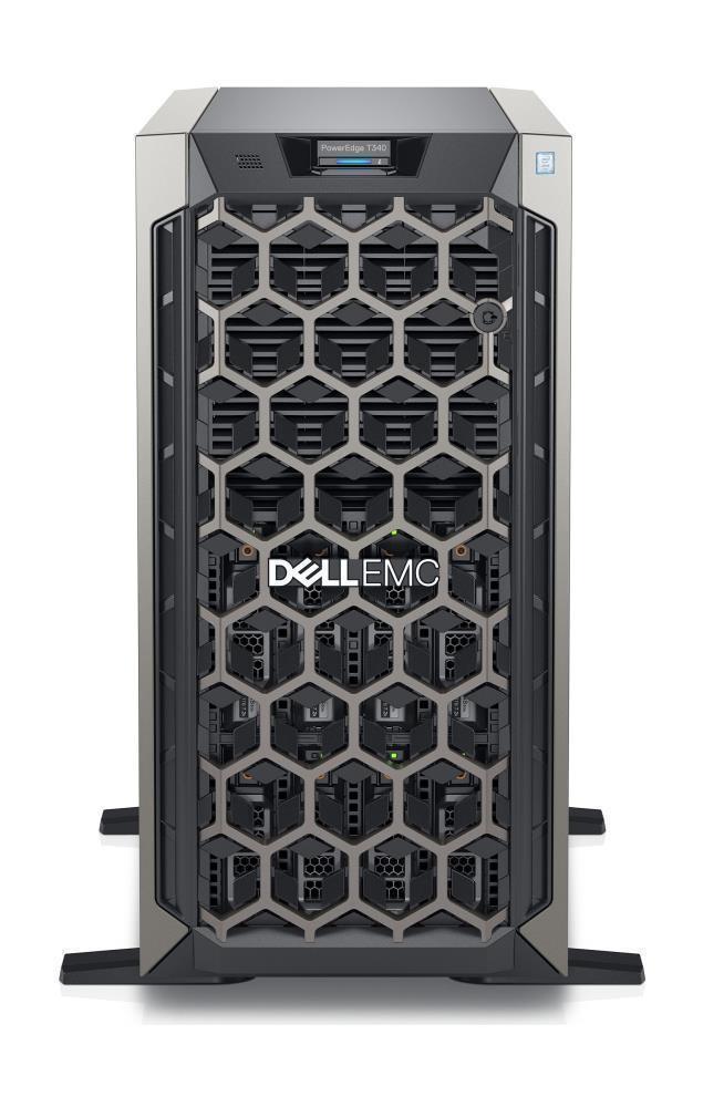 SERVER T340 E-2246G H330/8X3.5/495W/3Y SCS DELL