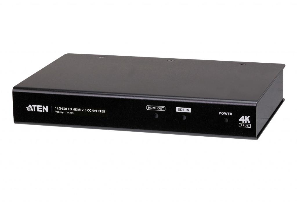 ATEN VC486-AT-G videosignaali muundur 3840 x 2160 pikslit