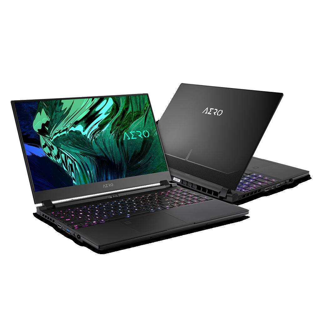 "Gigabyte AERO 15 OLED YD-73EE624SP Black, 15.6 "", OLED, UHD, 3840 x 2160, Intel Core i7, i7-11800H, 16 GB, DDR4, SSD 1000 GB, NVIDIA GeForce RTX 3080, GDDR6, 8 GB, Windows 10 Pro, 802.11ax, Bluetooth version 5.0, Keyboard language English, Keyboard backlit, Warranty 24 month(s), Battery warranty 12 month(s)"