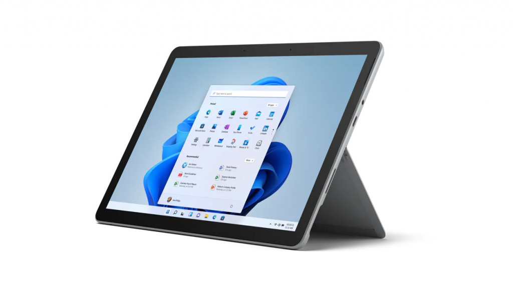 "Microsoft Surface Go 3 Platinum, 10.5 "", Touchscreen, 1920 x 1280 pixels, Intel Core i3, i3-10100, 8 GB, LPDDR3, SSD 128 GB, Intel UHD 615, No Optical Drive, Windows 11 Home in S mode, 802.11a/b/g/n/ac/ax, Bluetooth version 5.0, Warranty 24 month(s)"