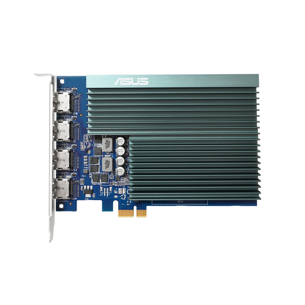 Asus GT730-4H-SL-2GD5 NVIDIA, 2 GB, GeForce GT 730, GDDR5, PCI Express 2.0, Processor frequency 902 MHz, HDMI ports quantity 4, Memory clock speed 5010 MHz