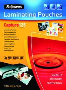 Fellowes Laminating Pouch - 65x95mm Glossy