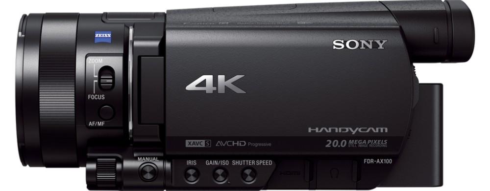 Sony FDRAX100E 14,2 MP CMOS Käsivideokaamera Must Full HD