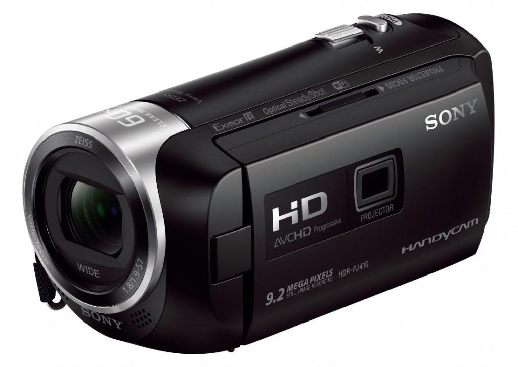 "Sony HDR-PJ410 1920 x 1080 pixels, Digital zoom 350 x, Black, Wi-Fi, LCD, Image stabilizer, Optical zoom 30 x, 6.86 "", HDMI"