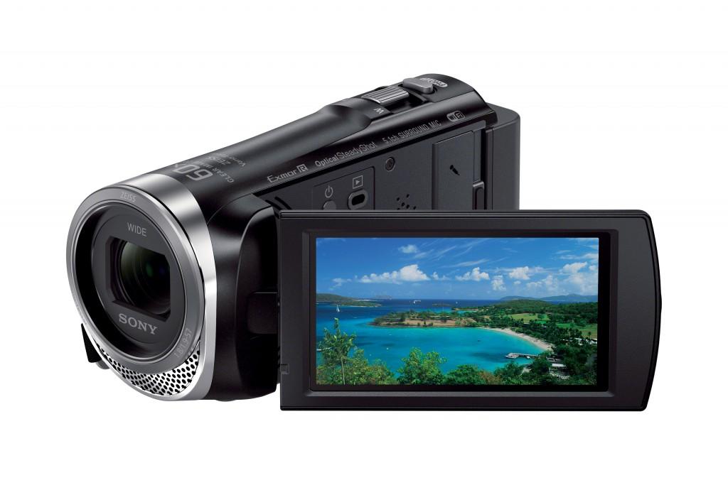 "Sony HDR-CX450 1920 x 1080 pixels, Digital zoom 350 x, Black, Wi-Fi, LCD, Image stabilizer, BIONZ X, Optical zoom 30 x, 7.62 "", HDMI"