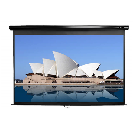 "Elite Screens Manual Series M92UWH Diagonal 92 "", 16:9, Viewable screen width (W) 204 cm, Black"