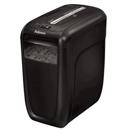 Fellowes Powershred 60Cs Black, 22 L, Credit cards shredding, Warranty 24 month(s), 75 dB, Cross-Cut Shredder, Paper handling standard/output 10 sheets per pass