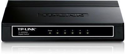 TP-LINK TL-SG1005D Mittejuhitav Gigabit Ethernet (10/100/1000) Must