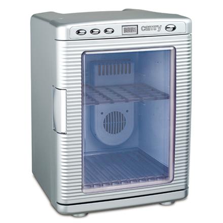 Camry Refrigerator CR 8062 Free standing, Car, Height 45.3 cm, C, Fridge net capacity 19 L, Display, 38 dB, Silver