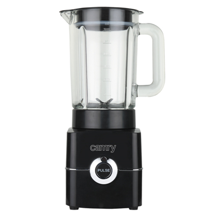 Camry Blender CR 4050 Tabletop, 500 W, Jar material Glass, Jar capacity 1.5 L, Ice crushing, Black