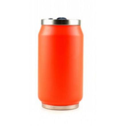 Yoko Design Isotherm Tin Can 280 ml, Fluo orange