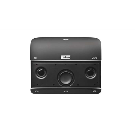 Jabra Freeway In-Car Speakerphone, Bluetooth, Noise-canceling, FM radio, 115 g, Black