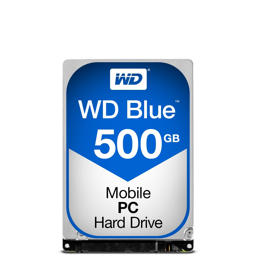 WD Blue Mobile 500GB HDD Sata 6Gb/s
