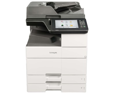 Lexmark MX910de Mono, Laser, Multifunction printer, Black, White, Black, A3, Yes, USB 2.0 Specification Hi-Speed Certified (Type B) Front USB 2.0 Specification Hi-Speed Certified port (Type A) Ethernet 10/100/1000, 1200x1200 DPI, Yes, 45 ppm ipm