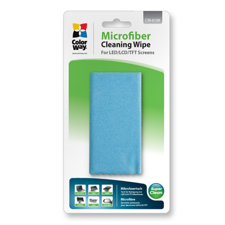 ColorWay Microfiber Cleaning Wipe