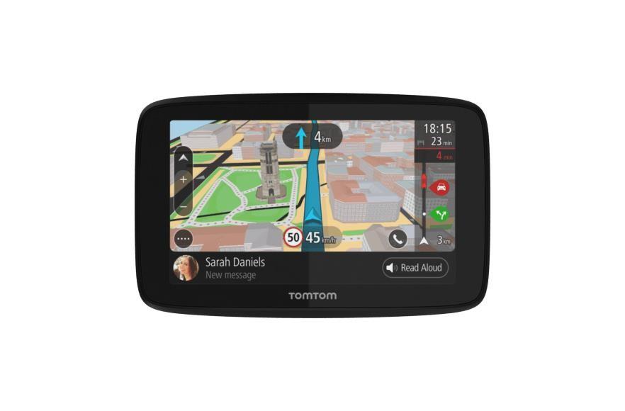 """TomTom GO 620 navigaator 15,2 cm (6"""") Puutetundlik ekraan Fikseeritud Must, Hall"""