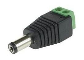 POWER CONNECTOR PLUG-SCREW/WTYKDC GENWAY