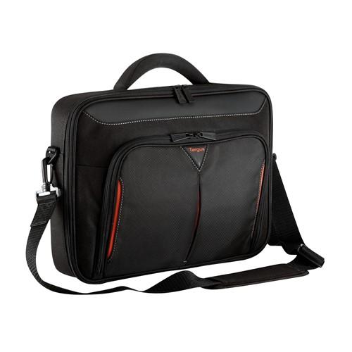 "Targus CN414EU sülearvutikott 36,3 cm (14.3"") Portfell Must, Punane"