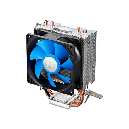 "Deepcool  ""Ice Edge Mini FS"" universal cooler, 2 heatpipes, Intel Socket LGA1156 /1155/ 775 and AMD Socket FM1/AM3+/AM3/AM2+/AM2/940/939/754 deepcool ""Iceedge mini FS""  Universal"