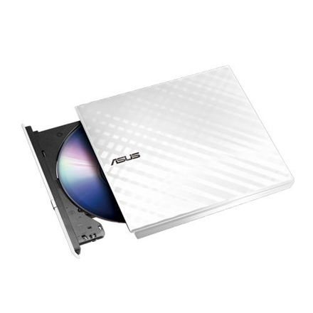 Asus SDRW-08D2S-U Lite Interface USB 2.0, DVD±RW, CD read speed 24 x, CD write speed 24 x, White, Desktop/Notebook