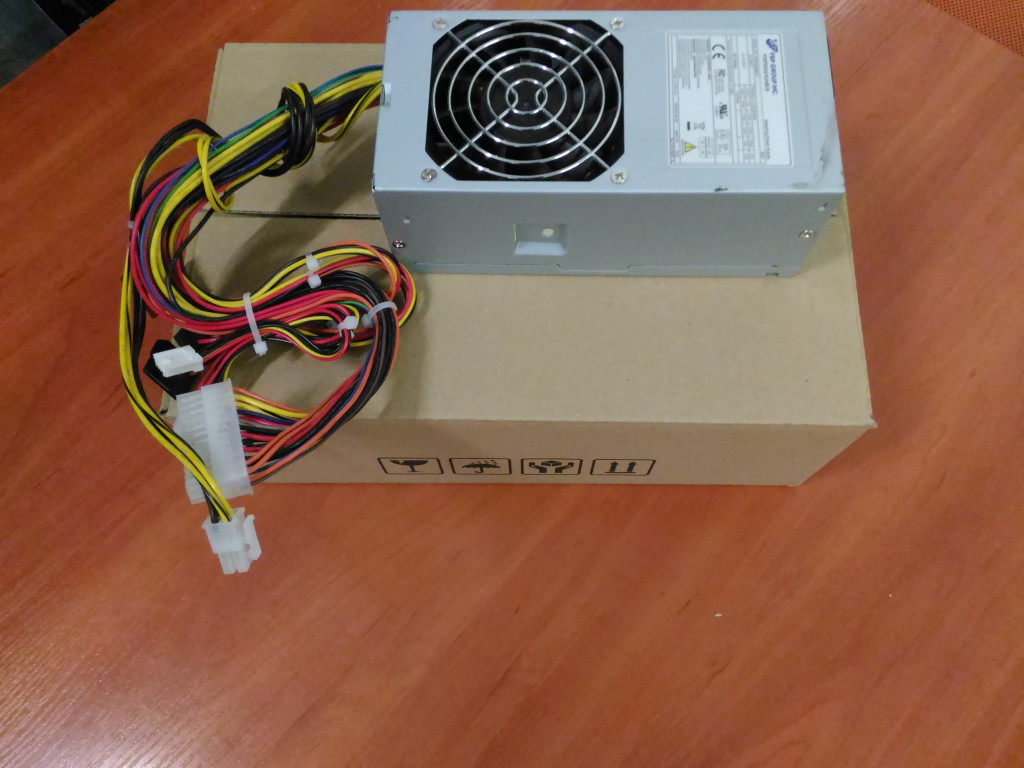 SALE OUT. Fortron TFX 250W PSU 85+ (80PLUS BRONZE)/ Active PFC  Fortron REFURBISHED USED WITHOUT ORIGINAL PACKAGING AND ACCESSORIES