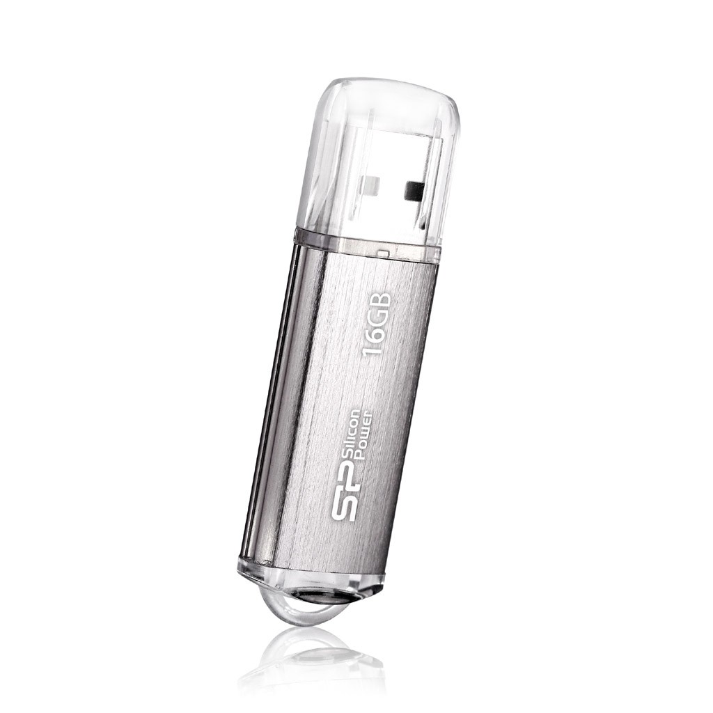 Silicon Power Ultima-II 16 GB, USB 2.0, Silver