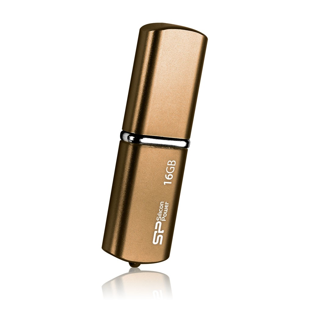 Silicon Power 16GB LuxMini 720 16 GB, USB 2.0, Bronze
