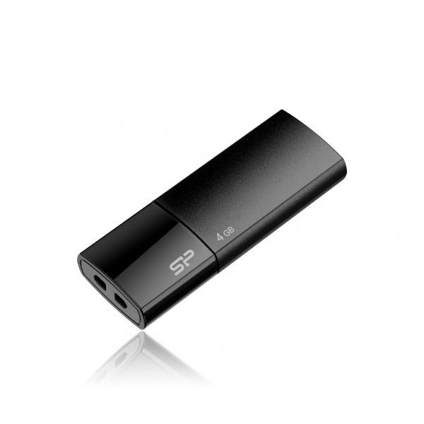 Silicon Power Ultima U05 4 GB, USB 2.0, Black
