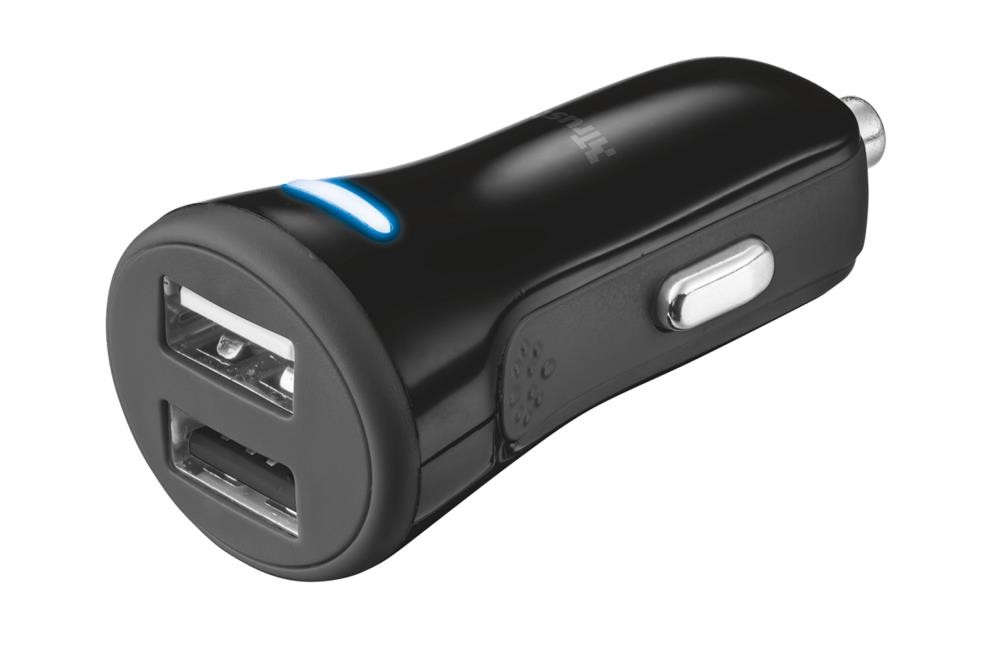 MOBILE CHARGER CAR BLACK/20572 TRUST